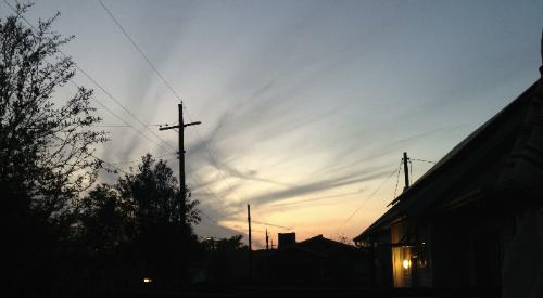 A Texas sunset