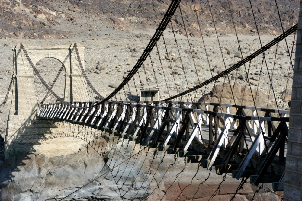 Bridge enroute to Chilas