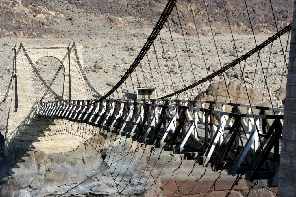 Bridge enroute to Chilas