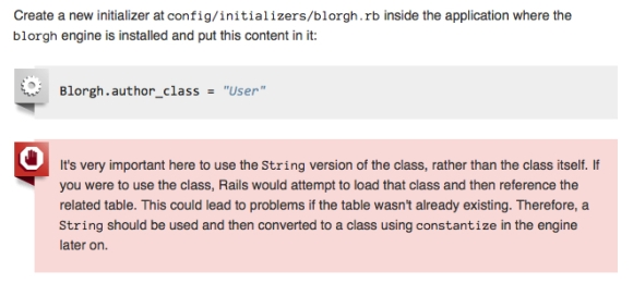 Screencapture from Rails Guide to Engines